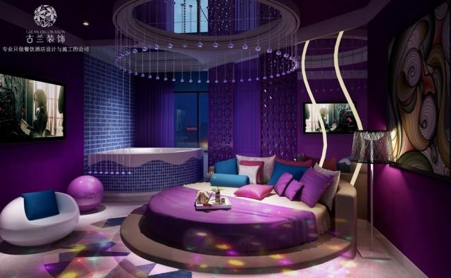 三明酒店设计装修-恋念不忘情侣酒店-福州酒店设计公司