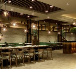 成都餐厅设计公司-饺子店设计