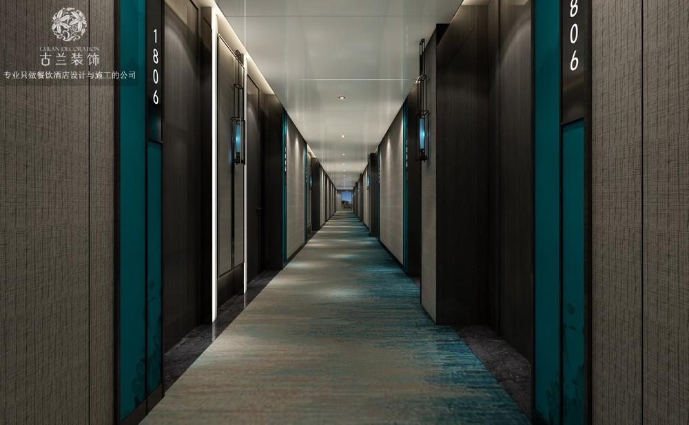 酒店公区过道设计:在节约能耗的前提下,公区设计些可拍、可娱、可互动的内容,让酒店自带流量。