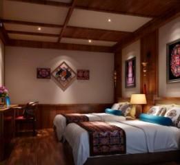 锦州酒店设计公司-羌文化主题度假酒