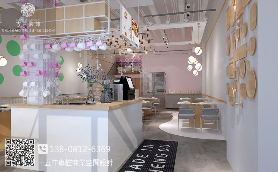 成都餐厅装修设计公司 鱼乐圈蒸汽石锅鱼餐厅