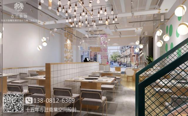 成都餐厅装修设计公司|鱼乐圈蒸汽石锅鱼餐厅