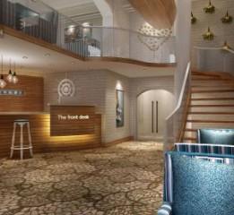 晋中酒店设计公司-爱情海主题酒店装修效果图