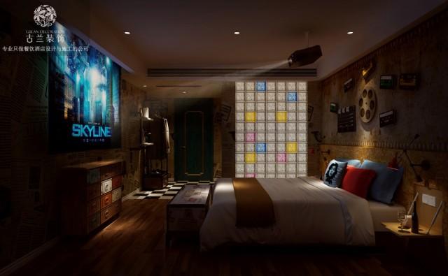 郑州专业酒店设计公司-烟台遇尚艺术主题酒店装修效果图