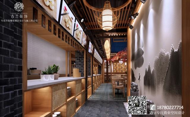 南京、苏州、无锡专业餐厅设计公司-成都蜀味特色中餐厅装修效果图