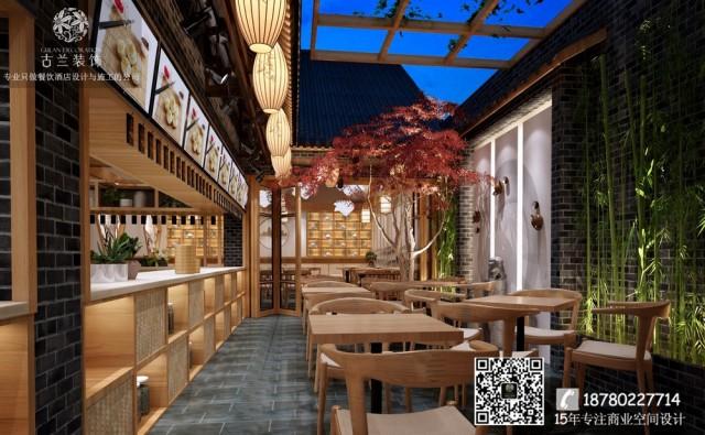 南通、泰州、扬州、淮安专业餐厅设计公司-成都蜀味特色中餐厅装修效果图