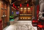 南京中式火锅店设计|重庆唇香阁火锅