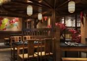 中式火锅店装修需要多少钱-西宁中式