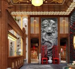 《龍府》中式中餐厅设计|成都专业中