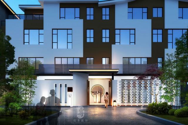 银川五星级酒店设计公司|大理时候客栈