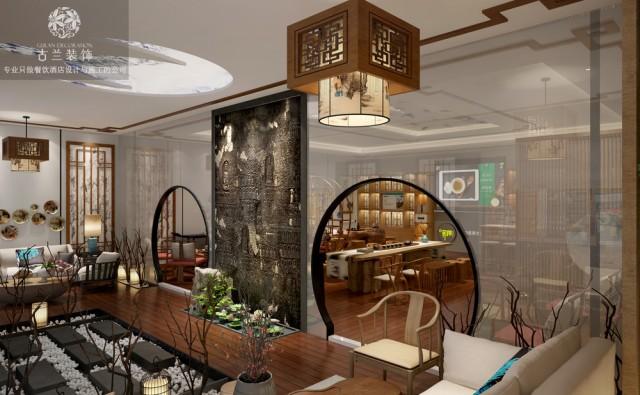成都生活馆设计案例-荞咖健康生活馆设计项目