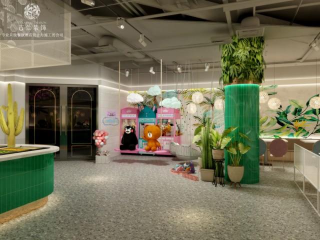 重庆餐厅设计-巴中南坝区中心医院餐厅