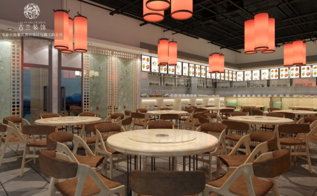 设计说明:现代都市崇尚贴近生活本源,自然、健康、快乐、环保、精致的可持续生活态度。本案设计以纯净不浮躁的现代设计迎合时尚活力人群。希望进入会所的消费者们能在全然悠闲的情绪中,去消遣一个理想的下午。打破传统中式的认知,运用现代留白打造新派中式砂锅川菜馆!