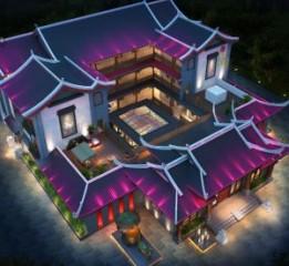 贵州度假酒店设计-荔波长乐未央度假