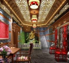 重庆唇香阁大气中式火锅店设计,重庆
