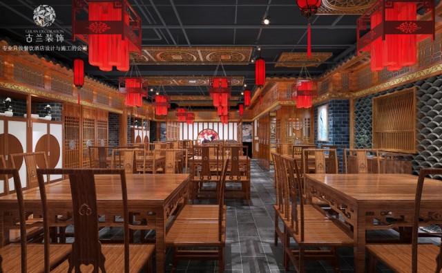 弯弯小厨餐厅(古田江胖子旗舰店)-重庆餐厅设计公司