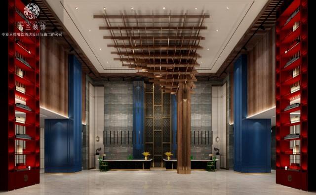 设计说明:盘州拥有古银杏,也被称为世界古银杏之乡,这里还是云贵交通、能源、商贸、物流、旅游的重要节点,由古兰装饰酒店设计的六盘水蓝山一品酒店,就位于此。古兰装饰酒店设计师在酒店中添加一些银杏元素,每一处细节都经过用心的铺排,传递着自然雅趣的格调。