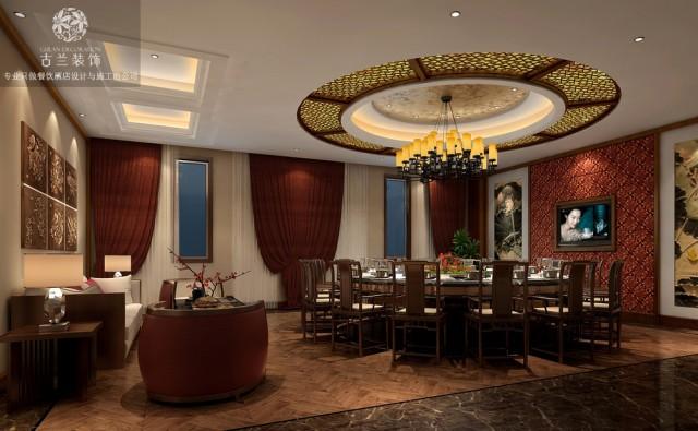 设计特点:具有老火锅本土文化特色的餐饮空间融入都江堰本土水文化特色、建筑文化特色、生活文化特色、饮食文化特色同时结合现代的手法提升空间的档次增设背景音乐和辅助灯光照明效果。