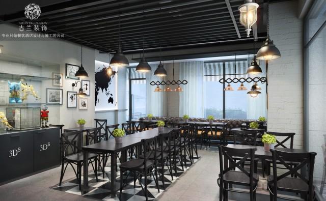 品牌名称:贝约翰西餐厅设计效果图, 餐厅地址:四川省成都市高车三路83号永立星城都