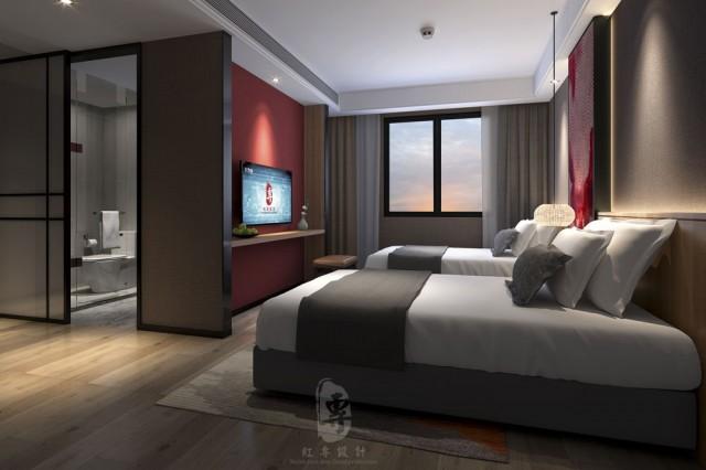 襄樊酒店设计公司 南洋满山居酒店
