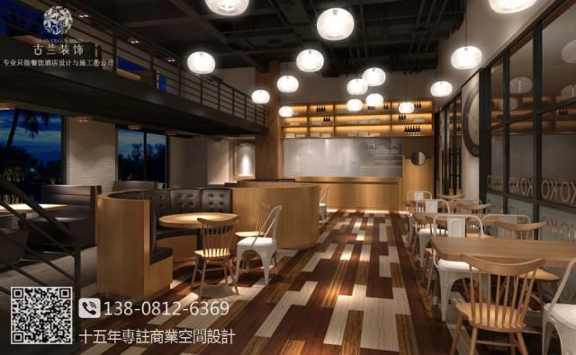 绵阳连锁西餐厅设计案例 味番屋西餐厅装修图