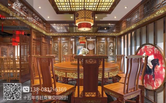 自贡中餐厅装修设计图-古田江胖子餐厅 .服务于自贡餐厅设计,自贡中餐厅设计,自贡餐厅装修设计公司.
