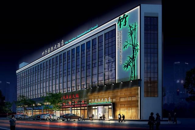 项目名称:竹子国际大酒店  项目地址:张家口市桥东区前屯新天地  红专设计顾问公司,是一家专业从事酒店设计的酒店设计公司。正所谓术业有专攻,经过多年的发展,红专设计已经拥有一个完整的酒店设计业务体系,案例、有关设计思路都有了成熟的表现。