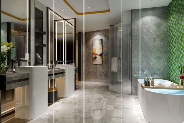 厦门星级酒店设计|竹子国际大酒店