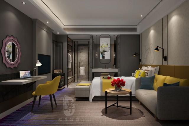 泸州星级酒店设计|名仕国际精品酒店