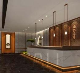 成都餐厅酒楼装修设计|国色天香酒楼