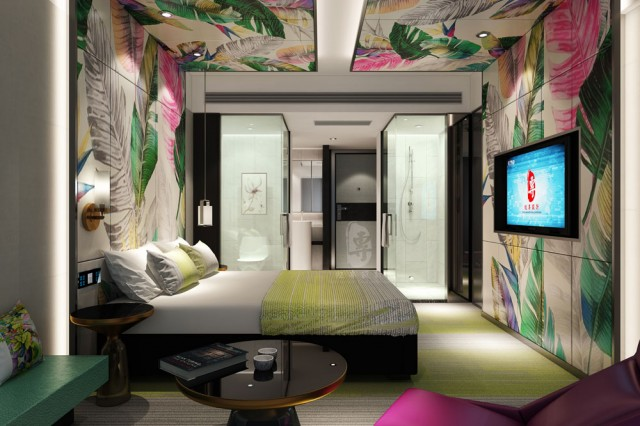 贵州星级酒店设计 动感生活精品酒店