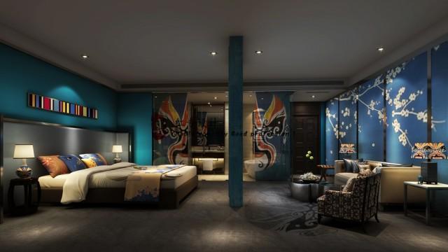 遵义五星级酒店设计公司|星宇·蜀居精品酒店