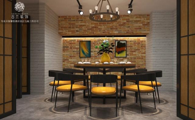 本案定位为快餐厅,饭点卖快餐,平时出售饮品,所以整体是有休闲氛围在里面。整体造价都不高,采用了黑白灰+原木的色彩搭配,整体是营造一种简洁、时尚、生态的氛围。