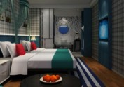 昆明酒店房间设计-一花一世界主题酒