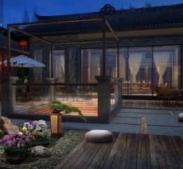 成都新中式度假酒店设计-青城山居酒