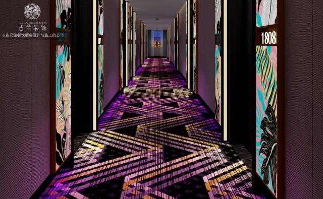 西安五羊维度精品酒店设计案例|成都古兰装饰酒店设计公司