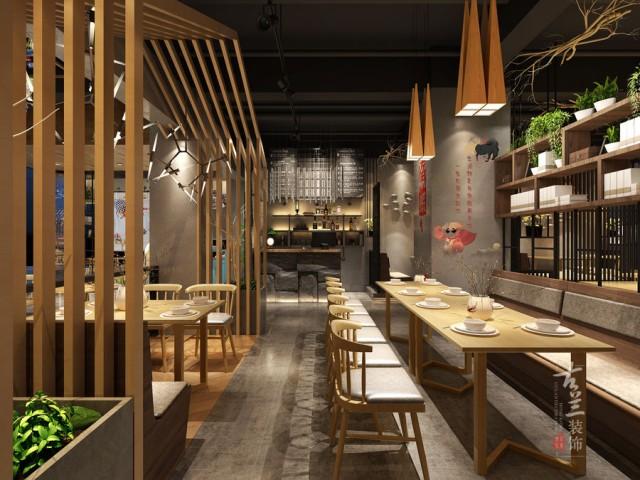 咸阳中餐厅设计,咸阳专业中餐厅设计公司【乌鱼龙虾店】
