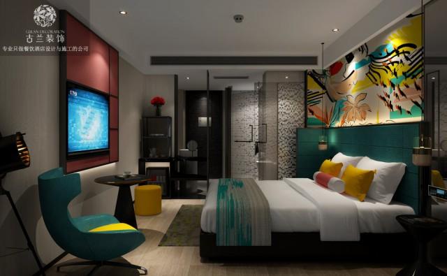 西安主题酒店设计公司推荐 成都古兰装饰公司 五羊维度