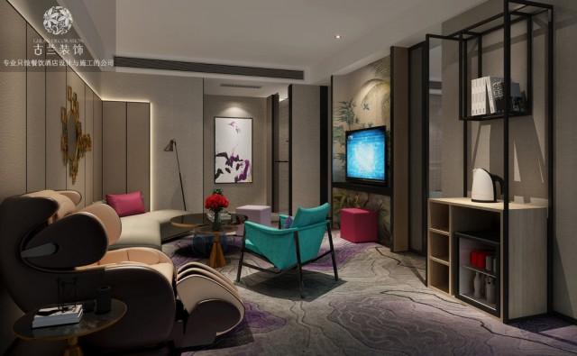 西安主题酒店设计公司推荐|成都古兰装饰公司|五羊维度