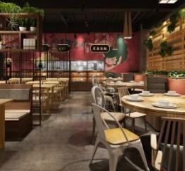 成都私房菜主题餐厅装修设计公司-一