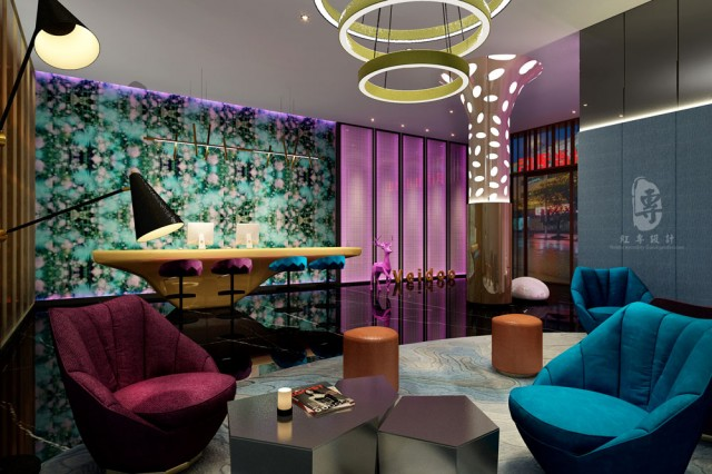 西安酒店设计公司-维度时尚酒店设计案例