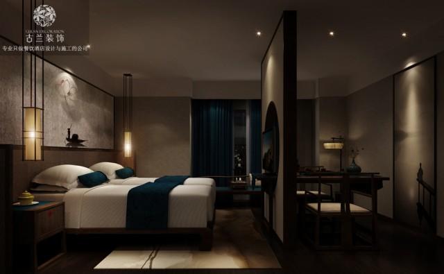 兰州主题酒店设计公司-静庐精品主题酒店