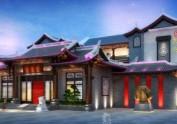 中式度假酒店设计细节