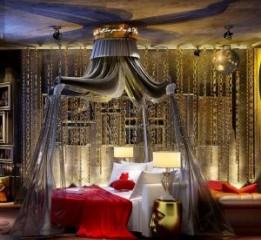 成都交集线情侣主题酒店设计装修案例