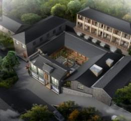 青城山居度假酒店设计-都江堰酒店设