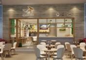 penta咖啡厅|成都咖啡厅装修效果图|