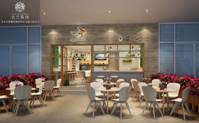 《penta咖啡厅》小清新咖啡厅设计,由成都专业餐饮店设计及装修公司设计,装修设计电话:173****6608(微信同号),联系人:小邓。