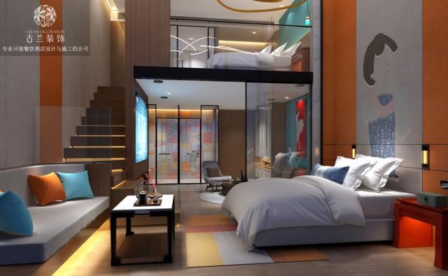 兰州酒店设计公司-悦廷栖居酒店案例介绍