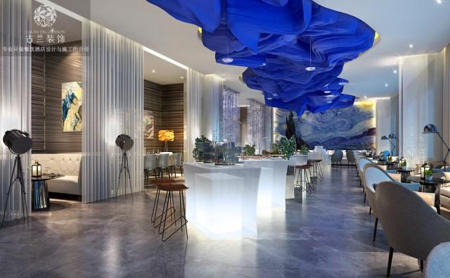 HW现代时尚精品酒店设计-酒店大厅