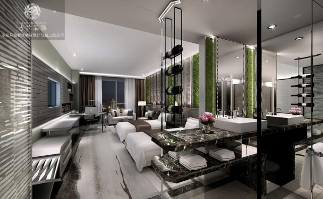 HW现代时尚精品酒店设计-酒店客房